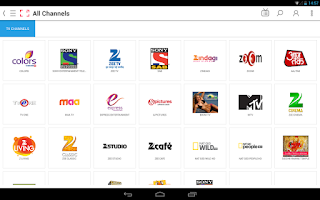 Screenshot of Ditto TV: LiveTV,Movies,Videos
