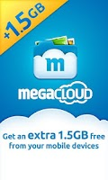 Screenshot of MegaCloud – 8GB Free Storage