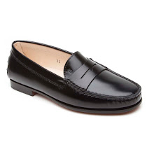 Tod's Leather Penny Loafer SHOE