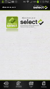 Emkay Select - screenshot