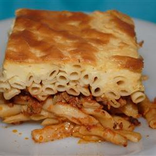 Beef Pastitsio Recipes