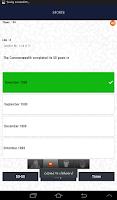 Screenshot of Fortin Quiz App
