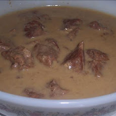Simple Beef Tips and Gravy