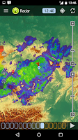Screenshot of Meteor (Weather) » Meteoradar