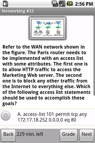 Advanced Networking Exam Prep