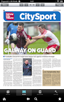Screenshot of Galway City Tribune