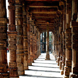 Pillars of historical monuments by Reuben Thapa - Buildings & Architecture Statues & Monuments