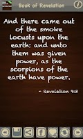 Screenshot of Book of Revelation (KJV)