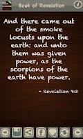 Screenshot of Book of Revelation (KJV)