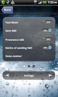 Screenshot of Hands Free SMS