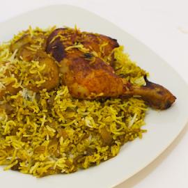 masly chicken rice by Ahmad Azaharuddin Omar - Food & Drink Plated Food ( chicken, rice, rice plated, eat, asean )
