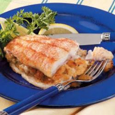 Crab-Stuffed Catfish
