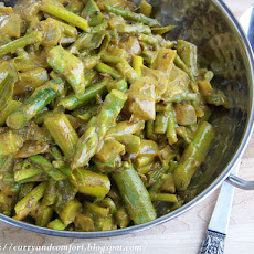 Asparagus Curry -Sri Lankan Style