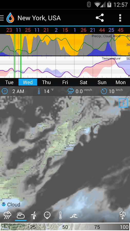 WeatherBomb Screenshot 1