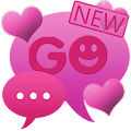 Theme Hearts for GO SMS Pro APK for Bluestacks