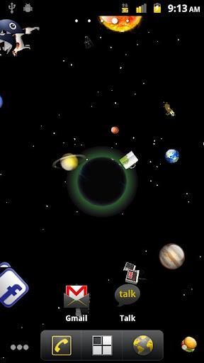 ブラックホールのGLライブ画像