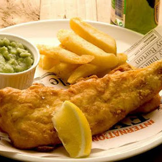 Fish & Chips Met Erwtenpuree