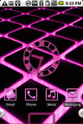 Glow Theme Pink