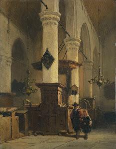 RIJKS: Johannes Bosboom: painting 1891