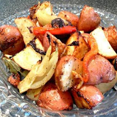 Market Mix (Roasted Potatoes, Fennel, Mushrooms and Peppers)
