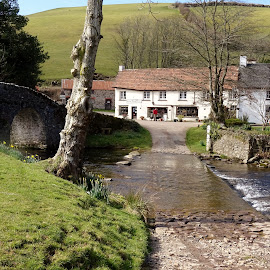 Malmsmead, Exmoor by Delia Paveling - Buildings & Architecture Homes