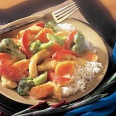 Creamy Chicken Stir-Fry