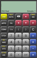 Screenshot of Calcularis Scientific Calc