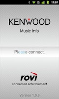 Screenshot of KENWOOD Music Info.