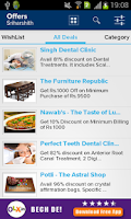 Screenshot of Deals, Coupons, Places - UAhoy