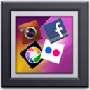 Social Gallery - 3D mobile app icon