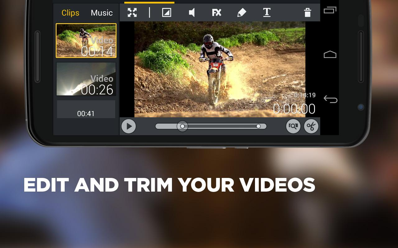 Movie Edit Touch - Video App Screenshot 2