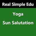 Yoga for Sun Salutation. icon