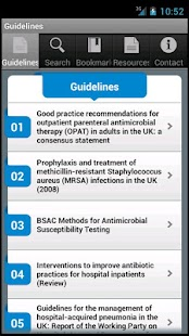 BSAC Guidelines - screenshot