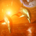 Dolphin Earth icon