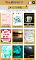 Screenshot of Greetings Cards FREE