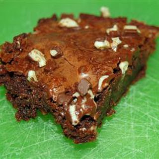 Melt in Your Mouth Mint Brownies