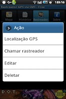 Screenshot of GPS Tracker by SMS - Free