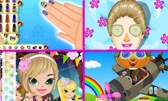 Screenshot of Juegos de maquillar