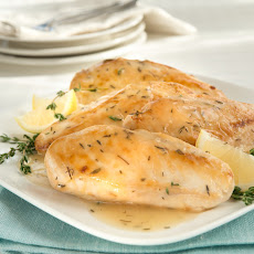Saucy Lemon Chicken Thyme