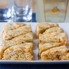 Savory Scones with Goat Cheese and Sun-Dried Tomatoes
