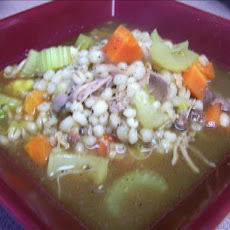 Turkey Barley Chunky Soup