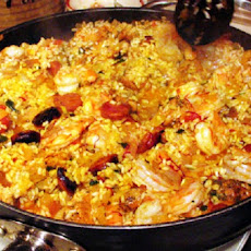 Birthday Party Paella