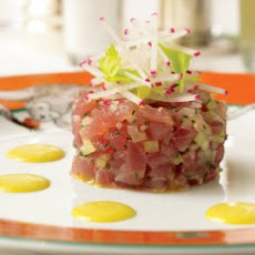 Curried Tuna Tartare Recipe