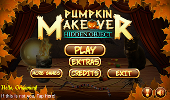 Screenshot of Hidden Object Pumpkin Makeover