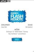 Screenshot of Flash Remote