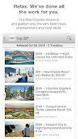 Screenshot of Travelzoo