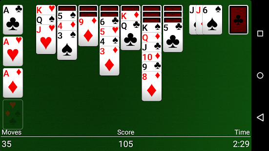 Hot blackjack solitaire