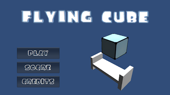 FLYING CUBE - screenshot
