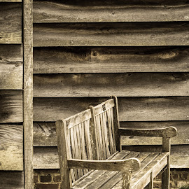 Bench by Rick McEvoy - Buildings & Architecture Homes ( bench, rick mcevoy photography, www.rickmcevoyphotography.co.uk, bursledon, hampshire )