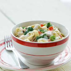 Cold Tortellini Chicken Salad